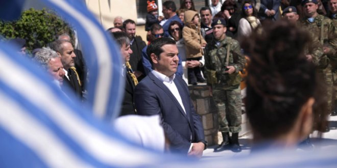 Turkish F-16s harass helicopter carrying PM Tsipras to Agathonisi