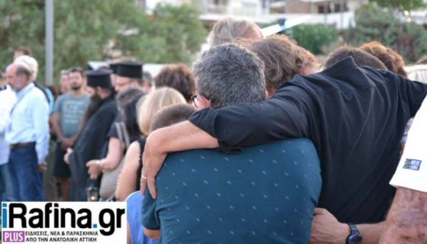 Survivors commemorate the 102 victims of Mati wildfire
