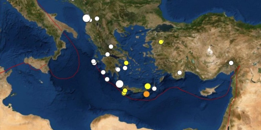 Seismologists Closely Monitor Activity Off Crete 100