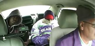 Chicago police released a photo of two men suspects in the robbery of Chicago a taxi driver on the South Side