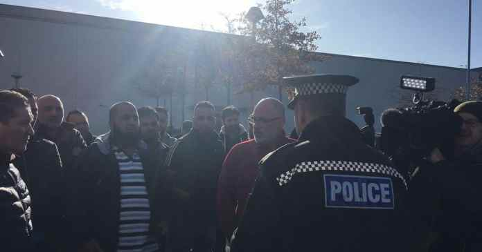 Leeds taxi drivers stage protest against racially-motivated attacks
