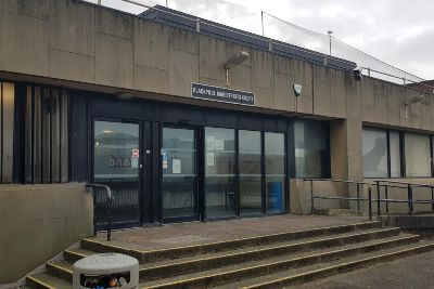 A man made race hate remarks to a Blackpool cabbie and punched him twice in the face after he would not take him as a fare.