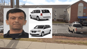 Sheridan Police Department search for Uber driver Abbas Abdal Kathem Abed as person of interest in connection to a woman's homicide case.