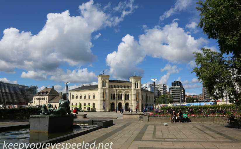 Scandinavia Day Eight. . Oslo.  Norway  Part Two: A Tour Of The City And A Legacy Of Peace.