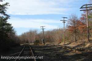 Railroad tracks hike Hazleton Heights  (16 of 47)