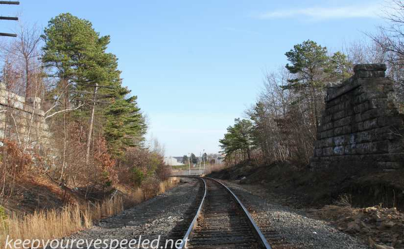 Another Railroad Hike Under Sunny, But Cold,  November Skies.