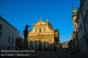 Krakow evening walk -3