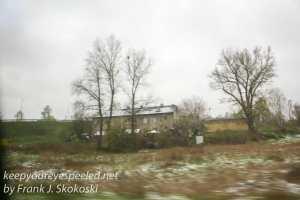 Auschwitz walk and bus ride -9