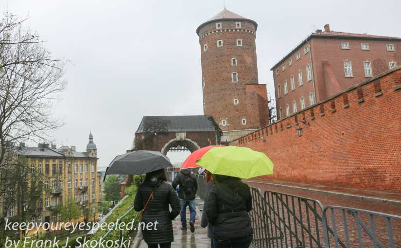 Poland Day Eleven:  Krakow: Chilly , Rainy Weather But An Informative Walking Tour With A Heartwarming Guide