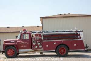 fire engine Atomic city Idaho