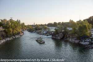 Snake River falls Idaho falls