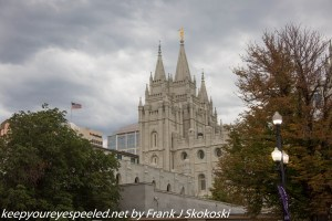 Temple downtown Salt lake City