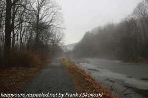 fog along Lehigh canal
