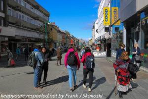 crowded street tromso