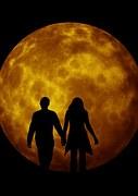 paartje tegen maan