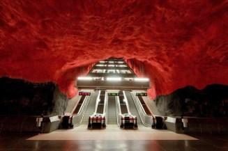 Το μετρό της Στοκχόλμης είναι έργο τέχνης