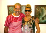 O φωτογράφος μόδας Γιώργος Μεστούσης με την Stella G. - μουσικό
