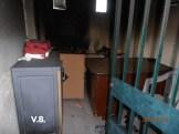 Φωτιά στο γήπεδο Καραβόμυλου