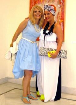 Μαίρη Χρυσόγγελου - Gianna Smile του Undergraound στα ΔΡΩΜΕΝΑ ΤΕΧΝΗΣ 2013