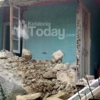 Επίσκεψη στο σεισμόπληκτο Ληξούρι