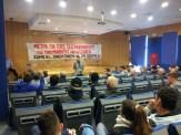 κινητοποίηση των σεισμόπληκτων στο Υπουργείο Παιδείας