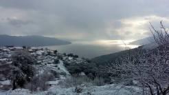 Κάτι χιόνισε και στην Κεφαλονιά