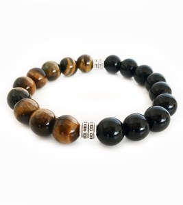 Bracelet Apollo Tiger Eye, Black Onyx