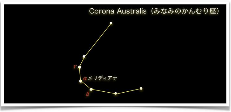 Corona Australis(みなみのかんむり座)