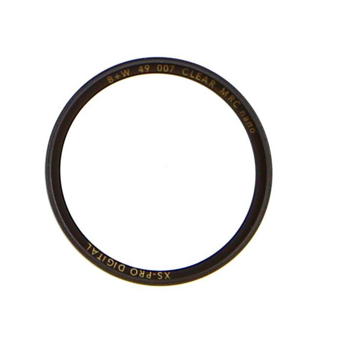 B+W 49mm Clear 007 MRC Nano XS-Pro DIG Filter at KEH Camera