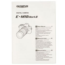 Olympus E-M10 Mark II Basic Manual Instructions, Micro