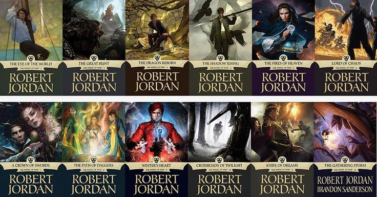 The Wheel of Time book series