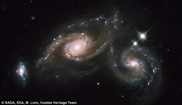 Merging Galaxies Hubble