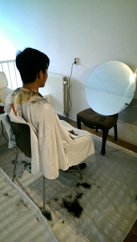 アムステルダムの日本人美容師
