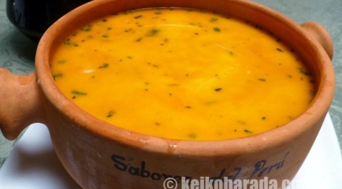ペルー自慢のグルメスープをどうぞ!