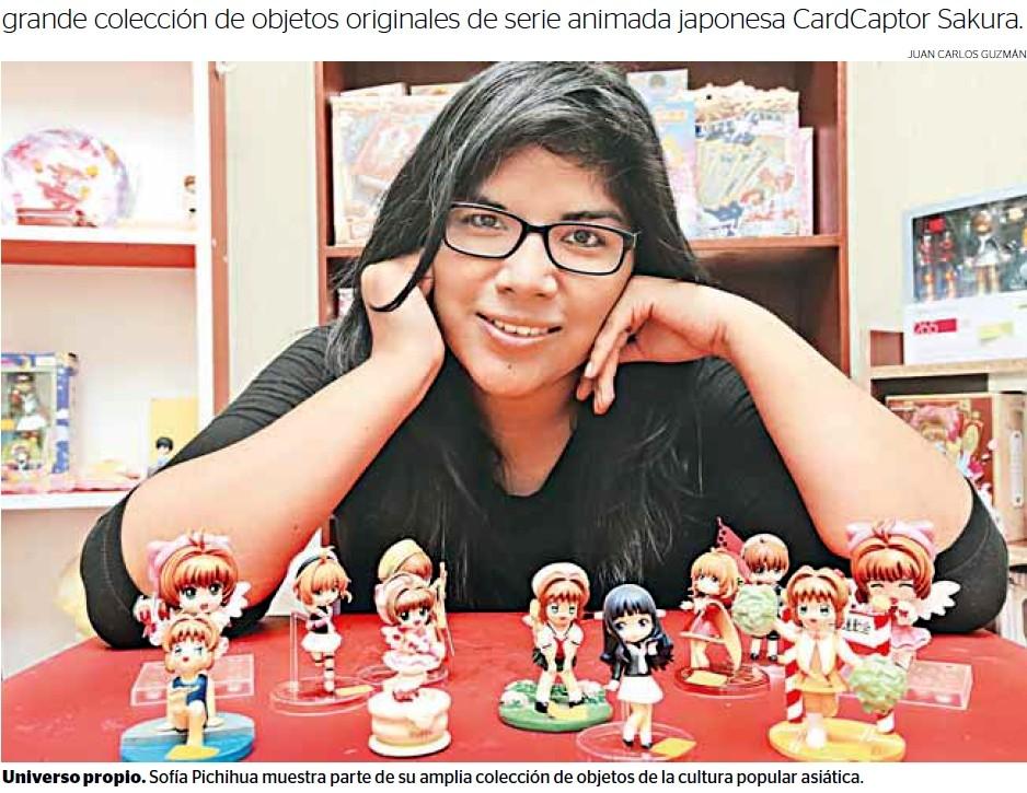 ペルー人収集家 日本のアニメグッズで世界一に