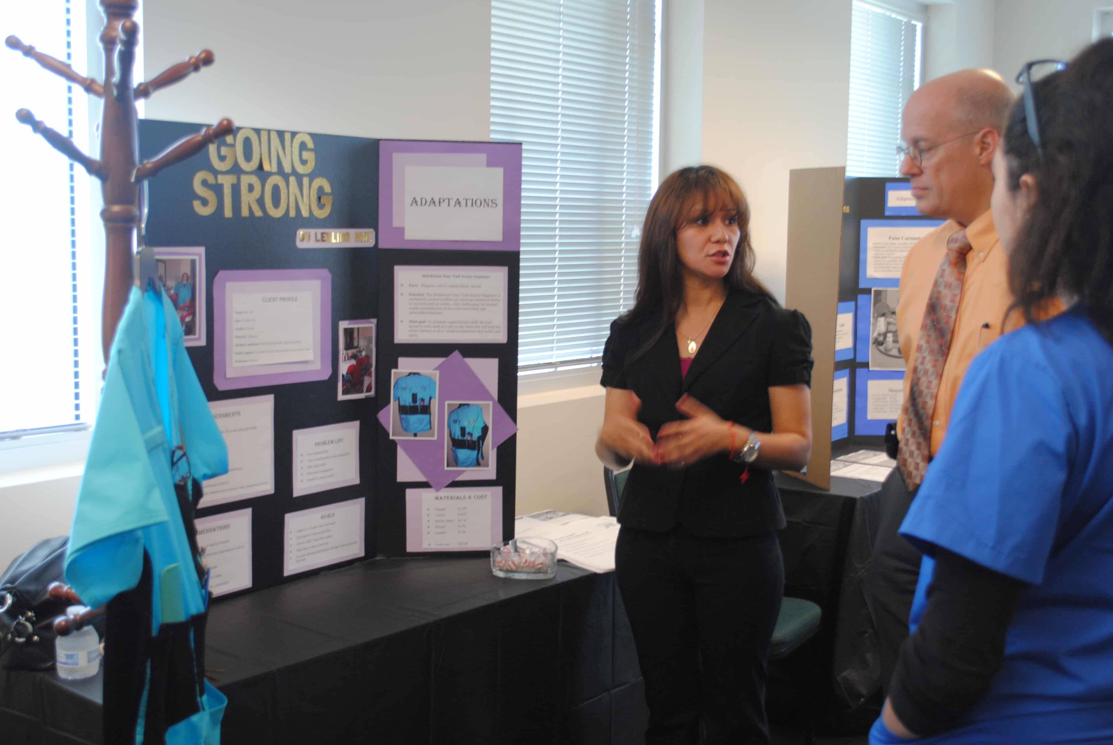 Occupational Therapy Assistant Students Work On Still Going Strong Project