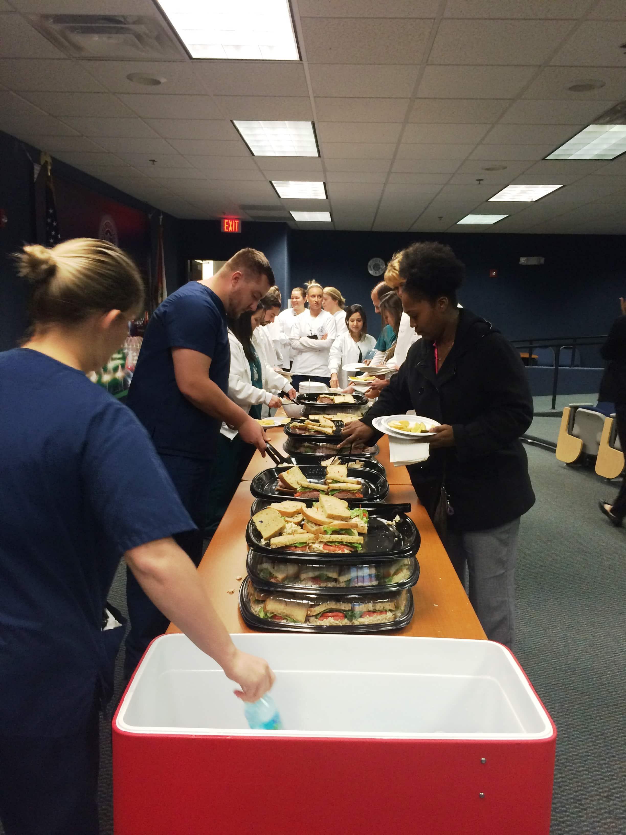 Jacksonville Creates a Winter Wonderland for Student Appreciation Week  Keiser University