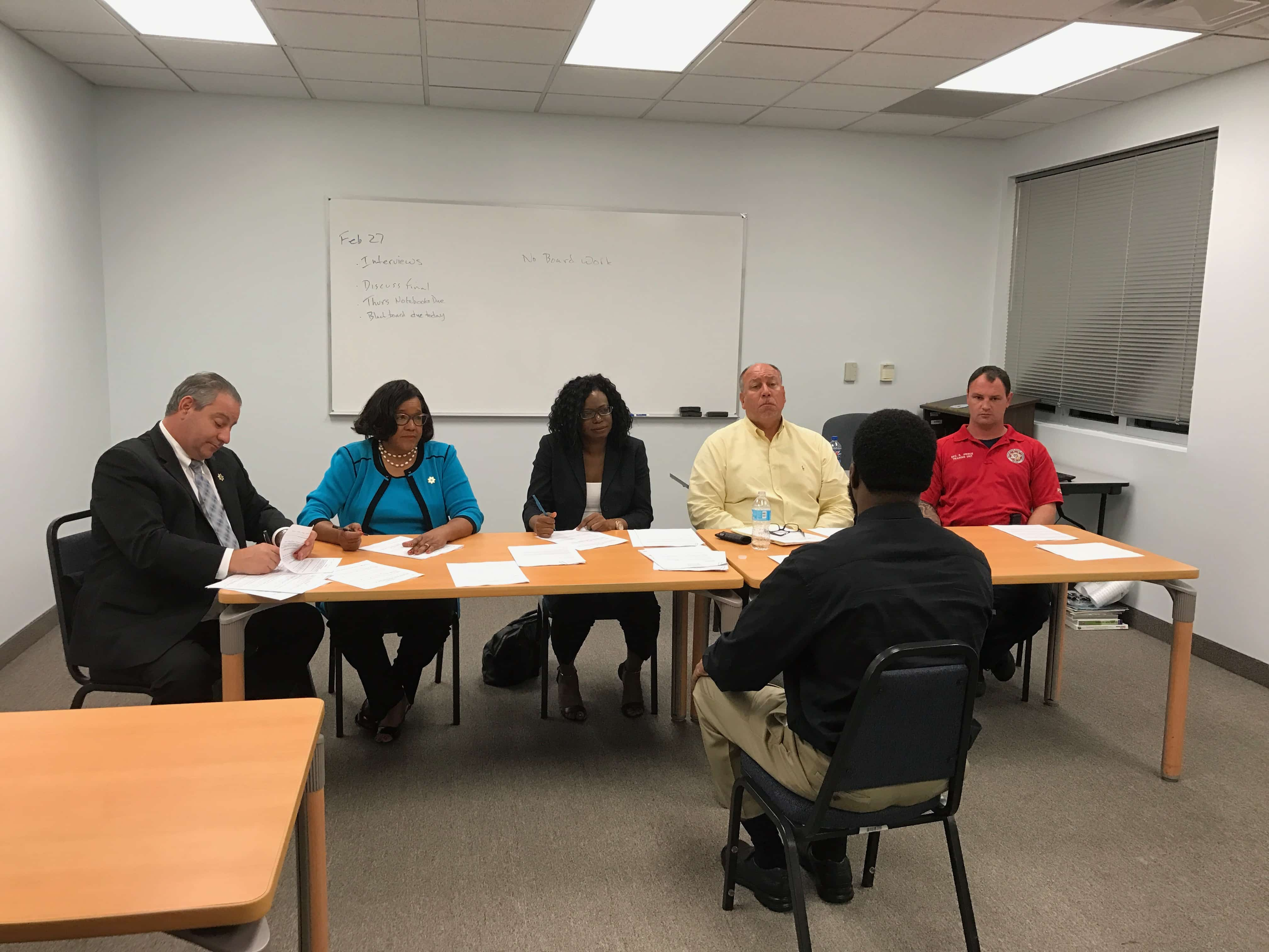 Criminal Justice Student S Experience Mock Panel Interview