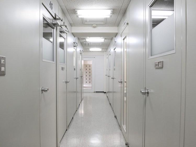 [写真]四谷本校の廊下
