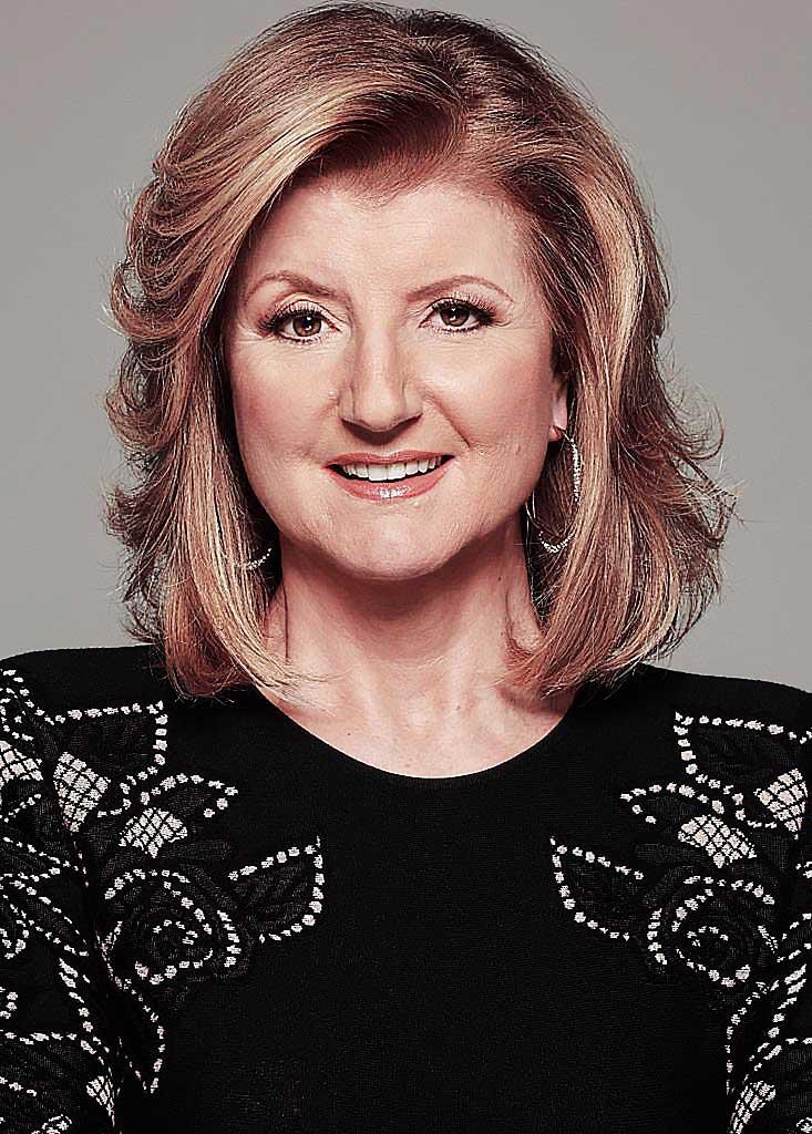 Arianna Huffington on Holistic Wealth by Keisha Blair