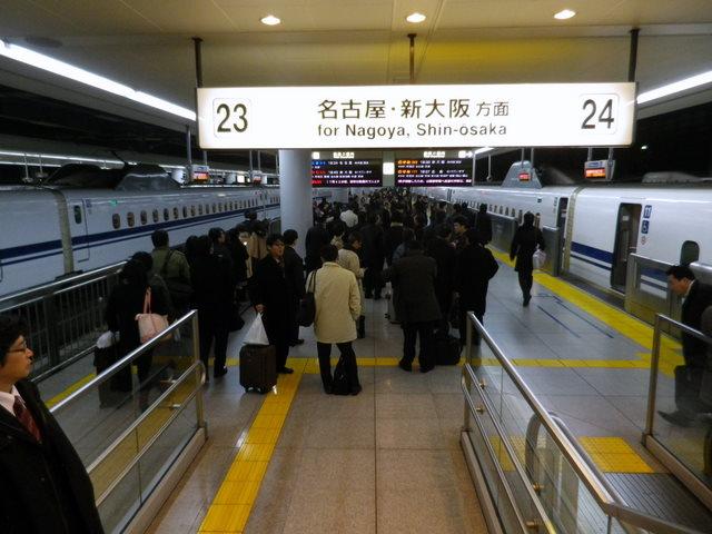 西明石の事故が東海道新幹線にも影響