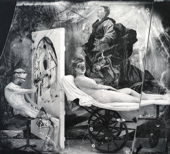 "Joel-Peter Witkin - ""Poussin in Hell"" - 1999"