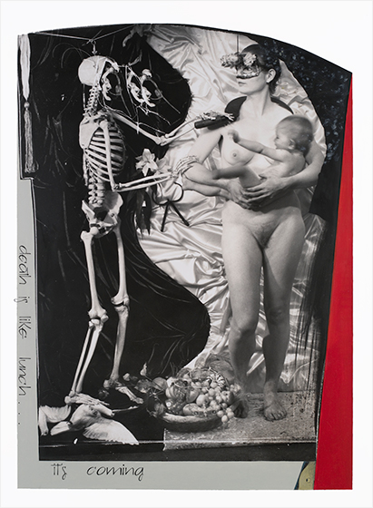 "Joel-Peter Witkin - Paris Triad: ""Death is like lunch...  it's coming."" - 2011"
