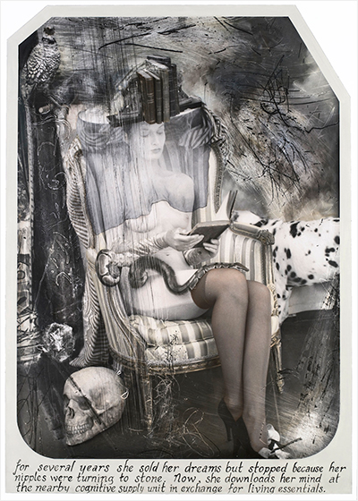 "Joel-Peter Witkin - Paris Triad: ""The Reader"" - 2011"