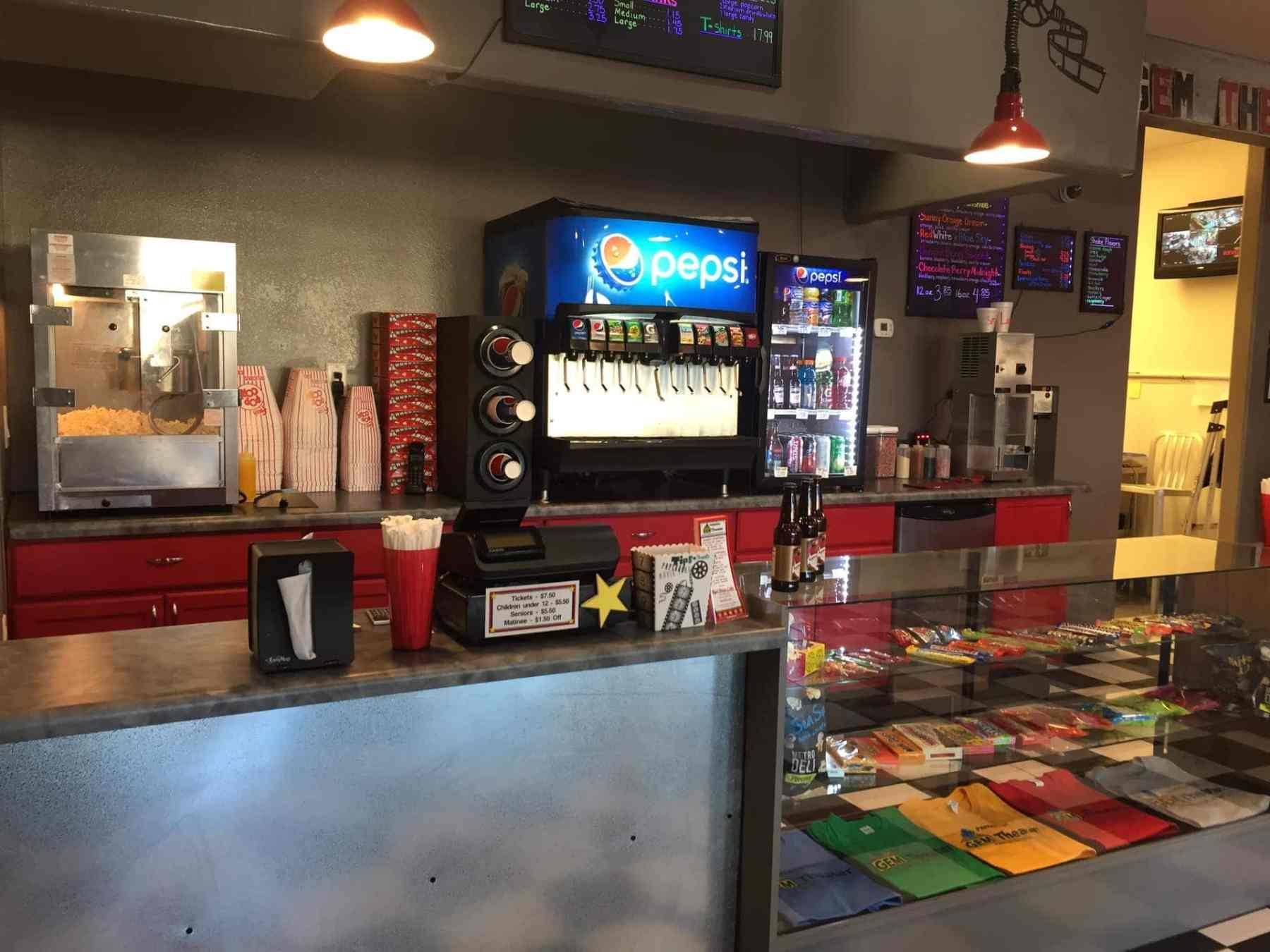 Concessions / Reel Bites Cafe at the Gem Theater