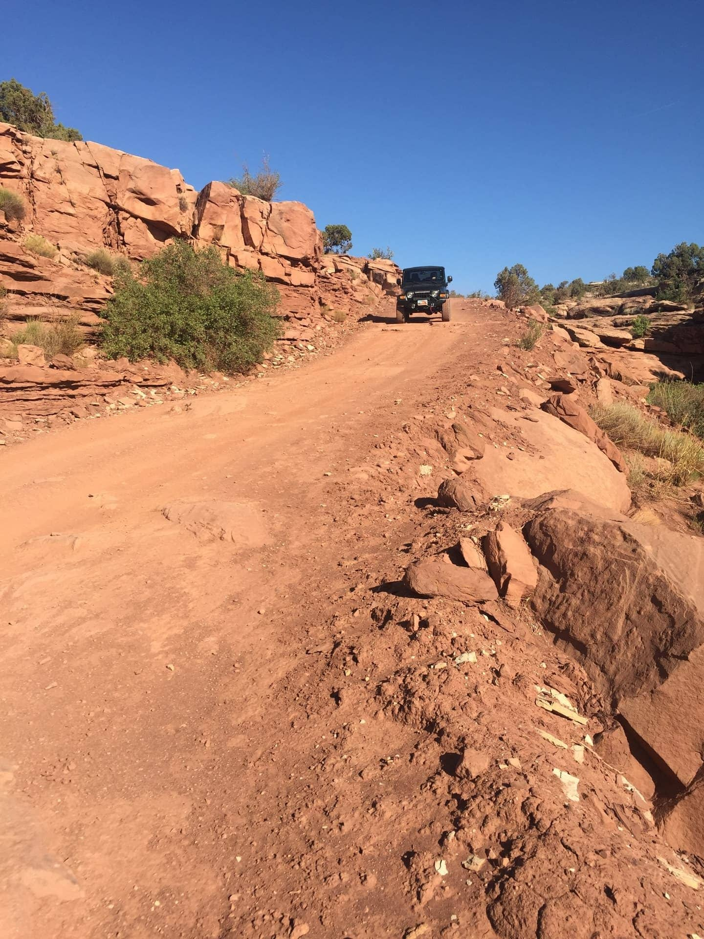 Off-road Spring Canyon Bottom