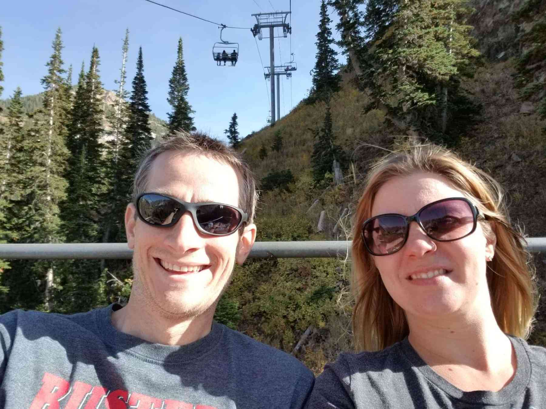 Riding Peruvian Chairlift at Snowbird