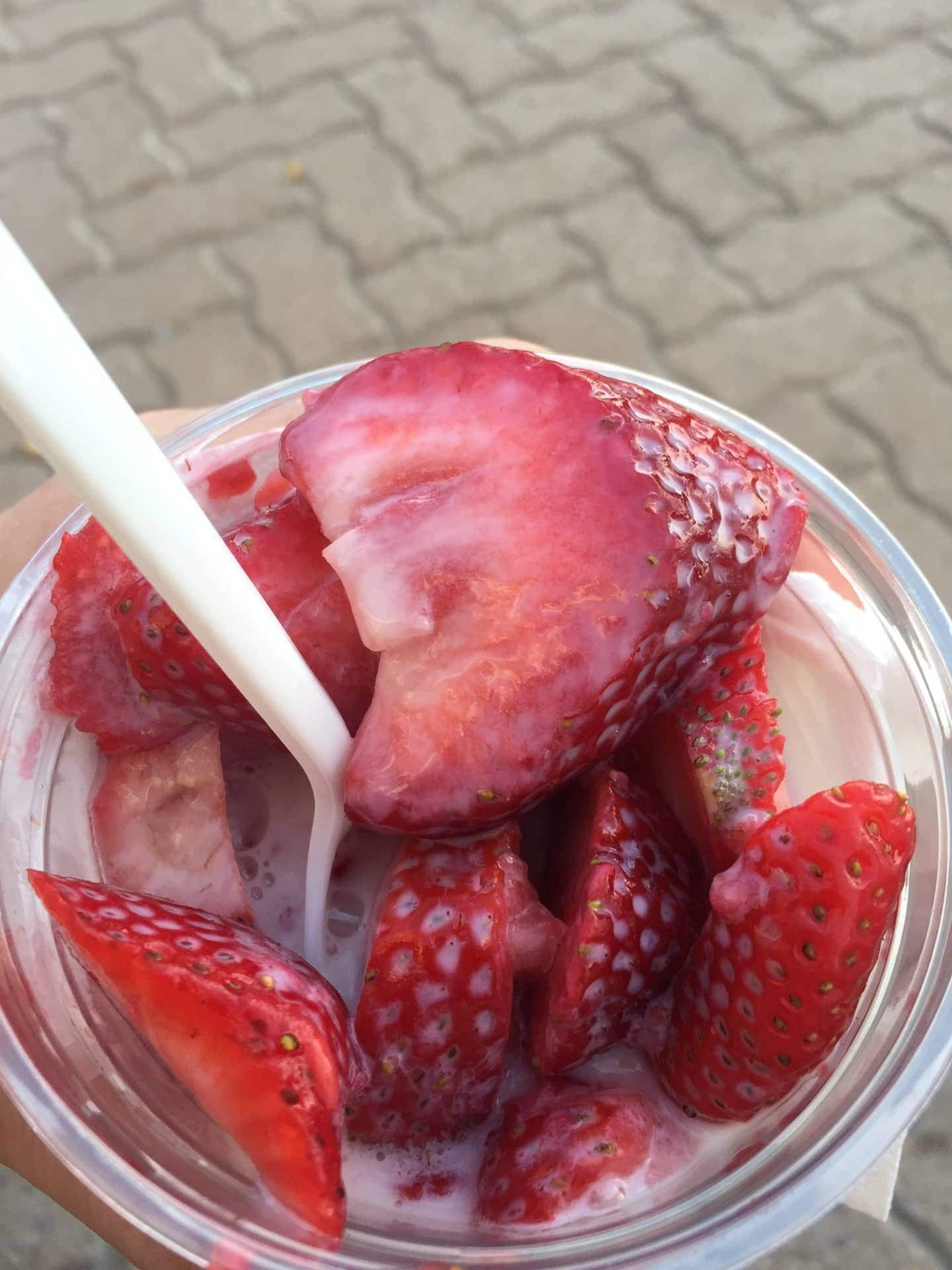 Strawberry Days Dessert