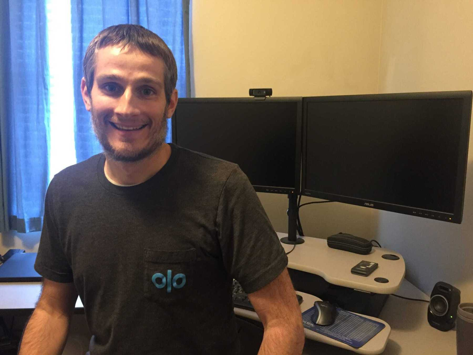 Keith started a new job with Olo - based in NYC