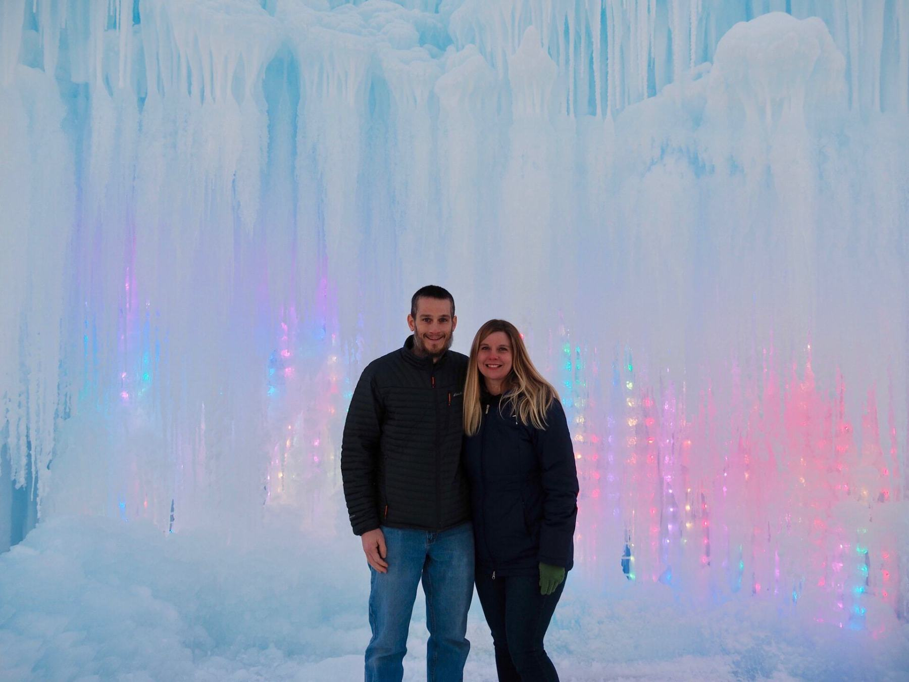 Welcome to Midway Ice Castles!